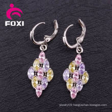 Wholesale Earring Cubic Zirconia Fashion Hoop Earring